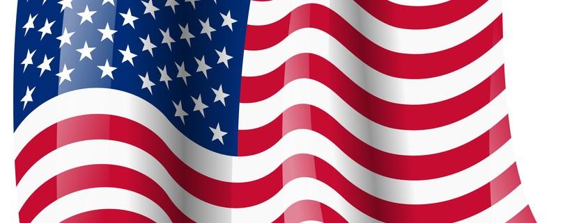 usa fahne wehend usa flag waving